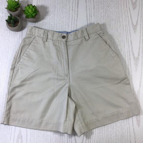 Liz Claiborne Pants - Liz Claiborne | Petite Khaki Casual Shorts